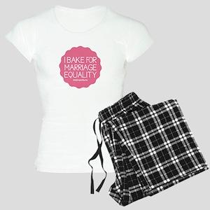 I Bake For Marriage Equality Women's Light Pajamas