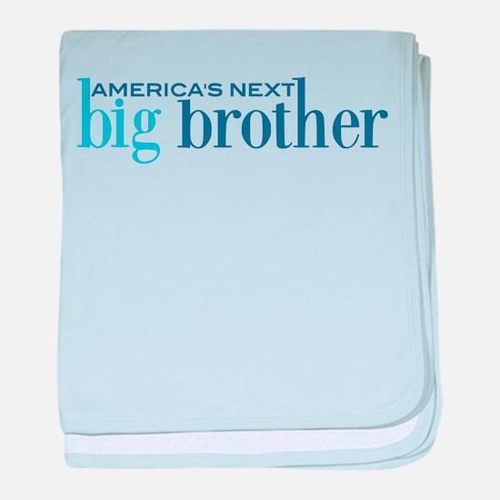 Next Big Brother baby blanket