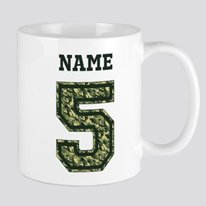 Personalized Camo 5 Mug