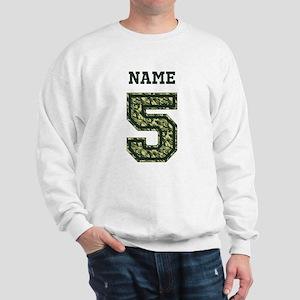 Personalized Camo 5 Sweatshirt