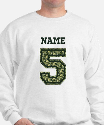 Personalized Camo 5 Sweatshirt