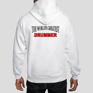 """The World's Greatest Drummer"" Hooded Sweatshirt"