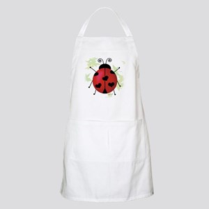 Heart Ladybug BBQ Apron