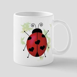 Heart Ladybug Mug