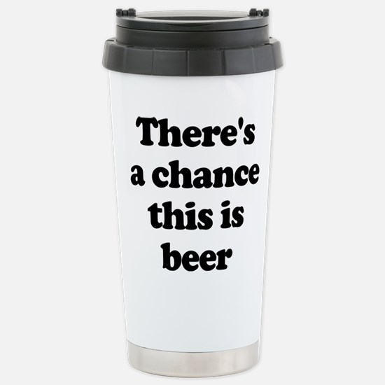 There's A Chance This Is Beer Mugs