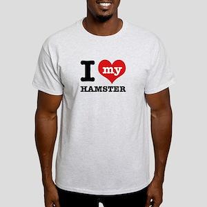 I heart Hamster designs Light T-Shirt
