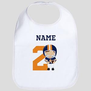 Personalized Football 2 Bib