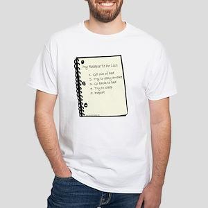 Relapse To Do List White T-Shirt