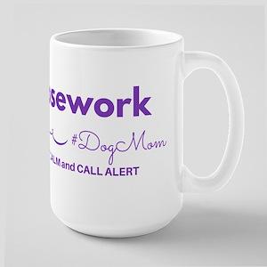 Nosework Dog Mom - Keep Calm 15oz Coffee Mug Mugs