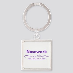 Nosework Dog Mom - Keep Calm & Call Keychains
