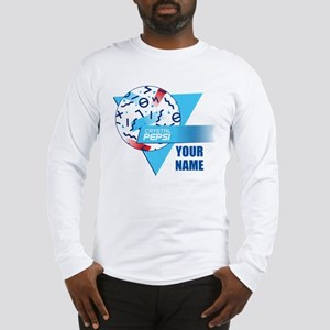 Crystal Pepsi Shapes Long Sleeve T-Shirt