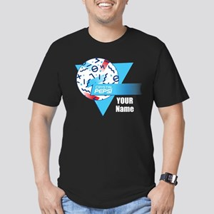 Crystal Pepsi Shapes Men's Fitted T-Shirt (dark)