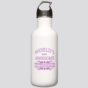 World's Most Awesome Veterinarian Stainless Water
