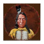 Red Cloud Tile Coaster