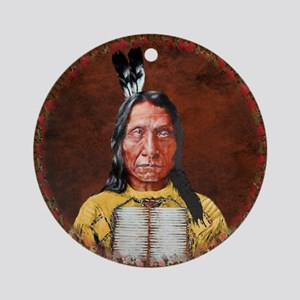 Red Cloud Ornament (Round)