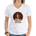 Red Cloud Women's V-Neck T-Shirt