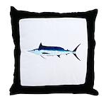 Shortbill Spearfish f Throw Pillow