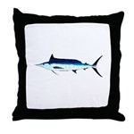 Shortbill Spearfish f Throw Pillow