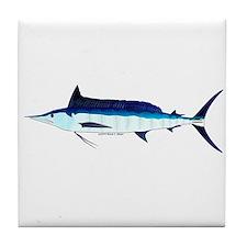 Shortbill Spearfish f Tile Coaster