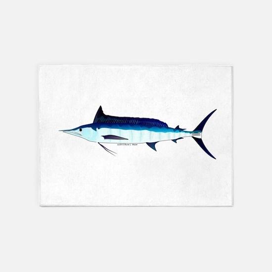 Shortbill Spearfish f 5'x7'Area Rug