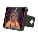 Sitting Bull Sioux Homelan Rectangular Hitch Cover