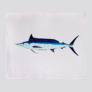 Shortbill Spearfish f Throw Blanket
