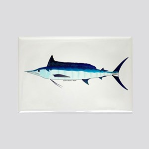 Shortbill Spearfish f Rectangle Magnet