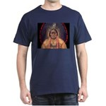 Sitting Bull Sioux Homeland Security Dark T-Shirt
