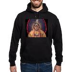 Sitting Bull Sioux Homeland Security Hoodie (dark)