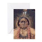 Sitting Bull Sioux Homel Greeting Cards (Pk of 10)