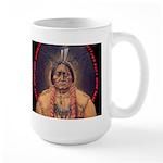 Sitting Bull Sioux Homeland Security Large Mug