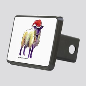 Sheep Holiday Rectangular Hitch Cover