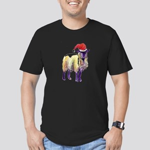 Sheep Holiday Men's Fitted T-Shirt (dark)