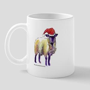 Sheep Holiday Mug