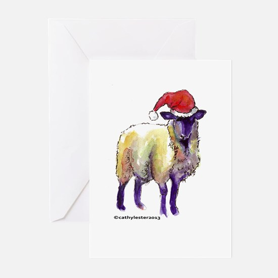 Sheep Holiday Greeting Cards (Pk of 20)