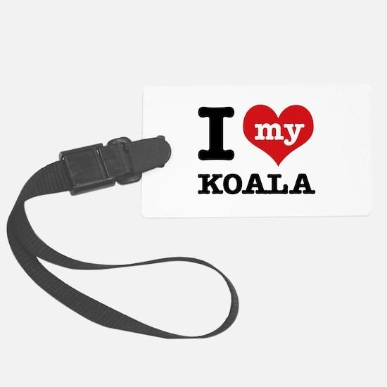I heart Koala designs Luggage Tag