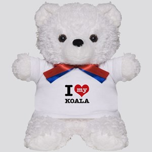 I heart Koala designs Teddy Bear