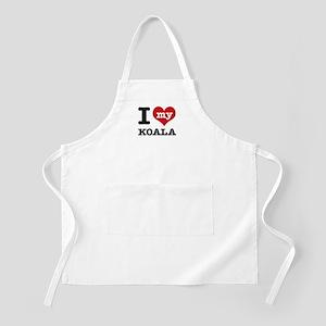 I heart Koala designs Apron
