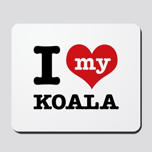 I heart Koala designs Mousepad