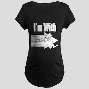Im with Masshole Maternity T-Shirt