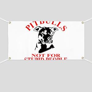 PITBULLS Banner