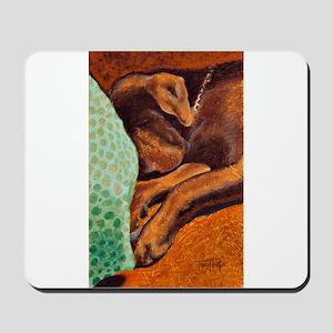 Brown Dog Mousepad