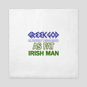 Fat Irish designs Queen Duvet