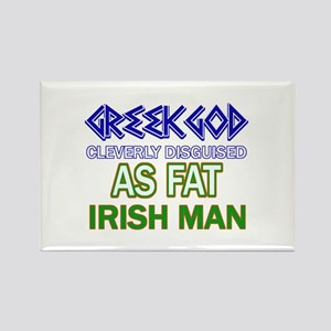 Fat Irish designs Rectangle Magnet