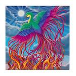 Phoenix Tile Coaster