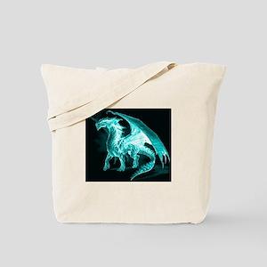 Ice Dragon Tote Bag