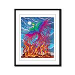 Phoenix Framed Panel Print