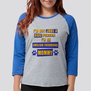 englishfoxhound Womens Baseball Tee