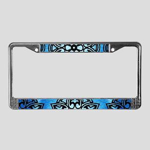 Decorative Medallion License Plate Frame