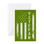 U.S. Veteran Flag Greeting Cards